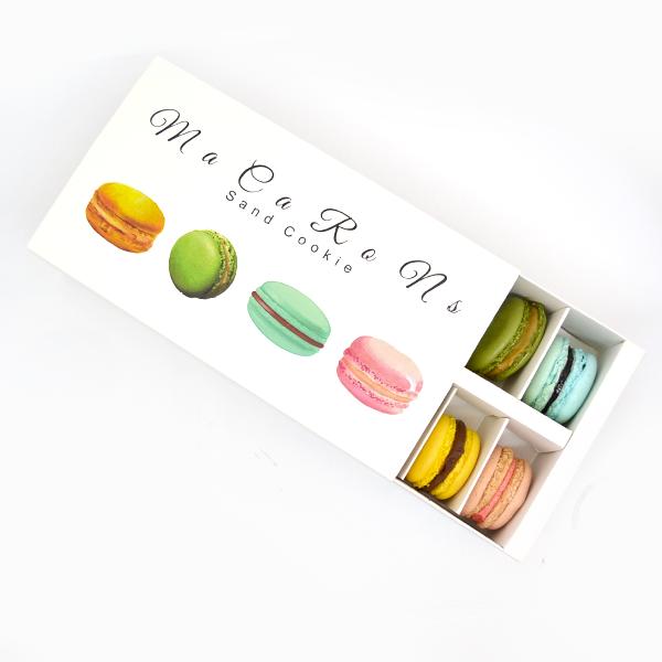 confezione da 12 macarons