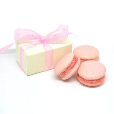 Macarons rosa per nascita bambina